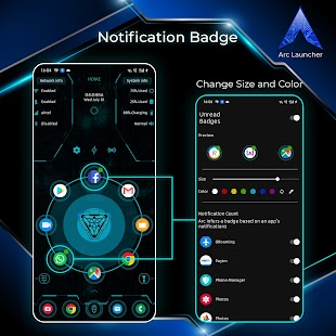 ARC Launcher® 2021 3D Launcher,Themes,App Lock,DIY Screenshot