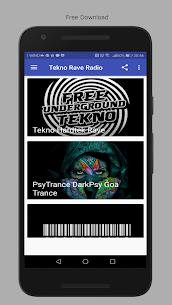 Tekno Hardtek Psy Goa Radio 1.0 MOD for Android 2