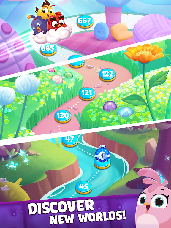 Angry Birds Dream Blast - Bubble Match Puzzle  poster 11