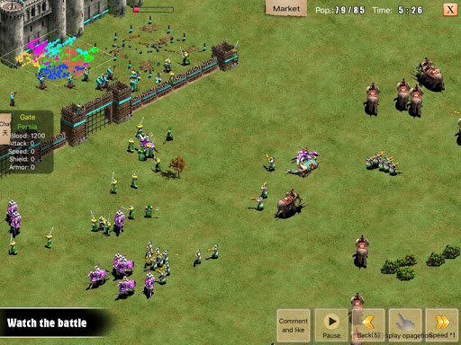 War of Empire Conquestuff1a3v3 Arena Game android2mod screenshots 13