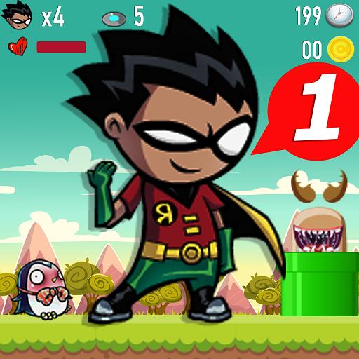 Baixar Robine - Boy Teen Superhero Game Adventure Run para Android
