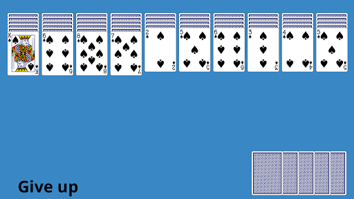 Classic Spider Solitaire 4.8 screenshots 1