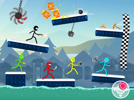 Stick Fighter: Stickman Games apklade screenshots 2