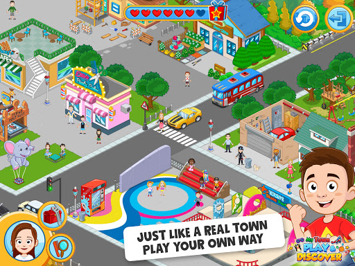 My Town : Play & Discover Pretend Play Kids Game  screenshots 11