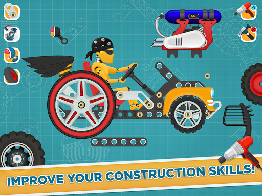 Car Builder and Racing Game for Kids 1.3 Screenshots 10