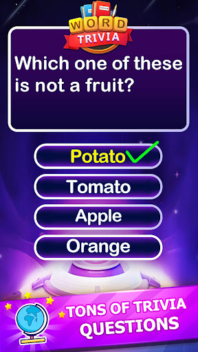 Word Trivia - Free Trivia Quiz & Puzzle Word Games 2.4 screenshots 4