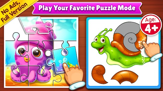 Puzzle Kids – Animals Shapes and Jigsaw Puzzles 1