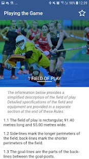 Rules of Hockey