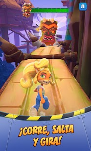 Crash Bandicoot: On the Run! Screenshot