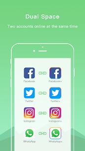 Dual Space Lite VIP MOD APK – Multiple Accounts & Clone App 2