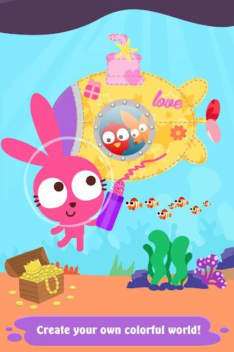 Code Triche Purple Pink Coloring Fun (Astuce) APK MOD screenshots 2