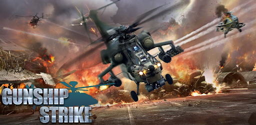 Screenshot of Gunship Strike 3D