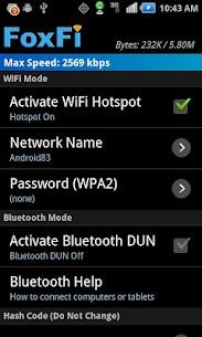 Download FoxFi (WiFi Tether w/o Root)MOD APK 1