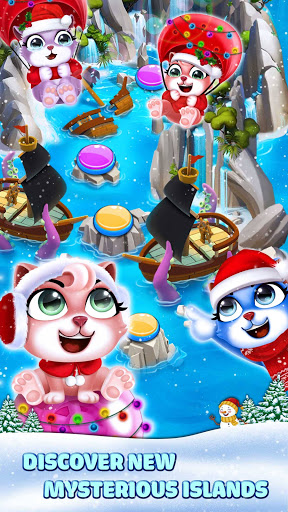 Cat Pop Island: Bubble Shooter Adventure Apkfinish screenshots 5