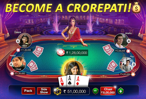 Teen Patti Gold - 3 Patti, Rummy, Poker & Cricket modiapk screenshots 1