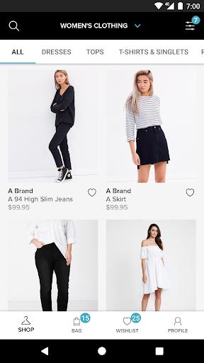 the iconic – fashion shopping screenshot 2