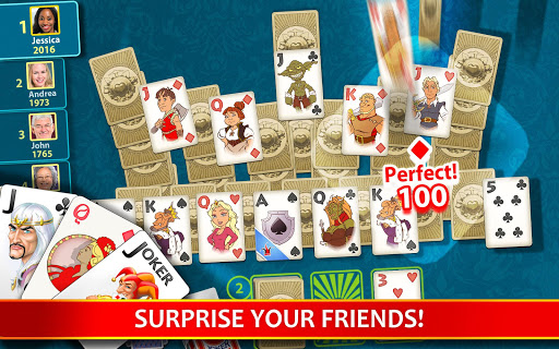 Solitaire Perfect Match 2020.7.2048 screenshots 8