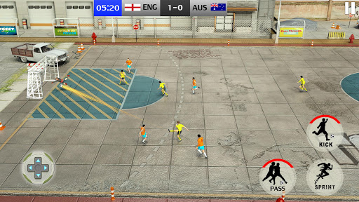 Street Soccer League 3D: Play Live Football Games 2.8 screenshots 1