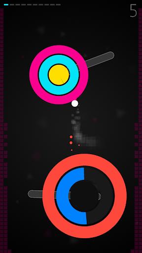 super circle jump★reaction game screenshot 3