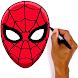 スパイダーマンの描き方 - Androidアプリ