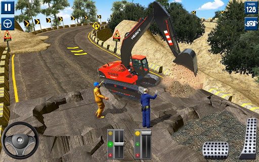 Heavy Excavator Simulator 2020: 3D Excavator Games modavailable screenshots 5