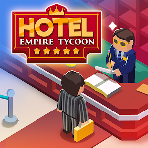 Hotel Empire Tycoon Idle Game Manager Simulator 1.9.9 by Codigames logo
