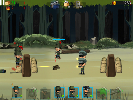 War Troops: Military Strategy Game for Free 1.25 screenshots 10