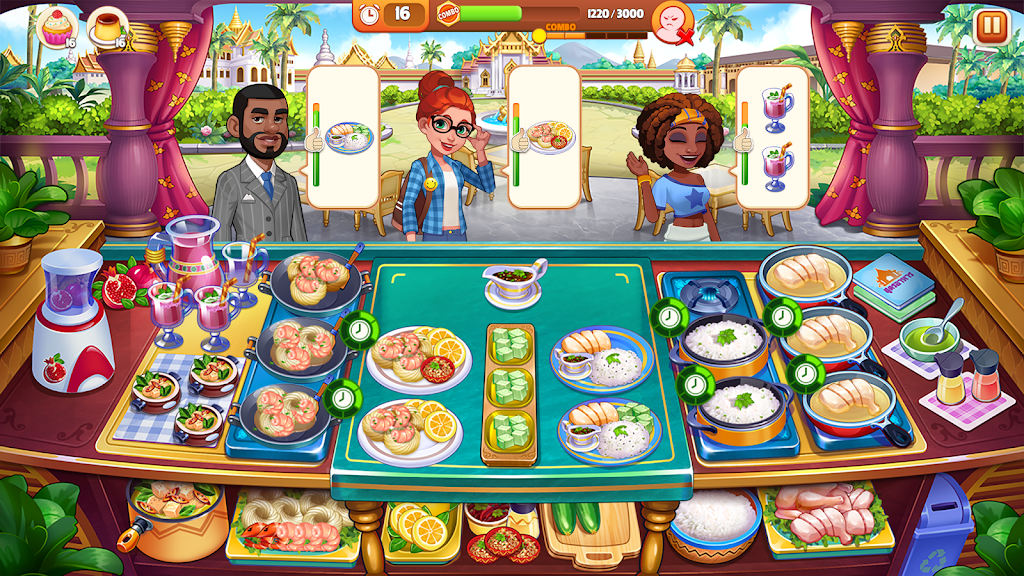 Cooking Madness - A Chef's Restaurant Games poster 2