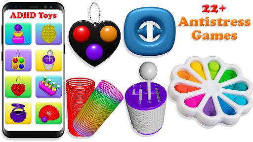 Fidget Toys Sensory Tools ASMR Pop It Toys 1.0.6 screenshots 1