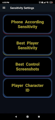 Sensitivity for u00dfattlegrounds - Puu1e9eG Mou00dfile  Screenshots 2