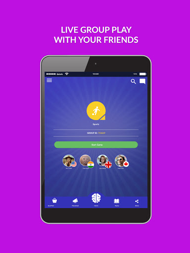 Quizefy u2013 Live Group, 1v1, Single Play Trivia Game  screenshots 6