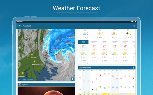 Weather & Radar - Storm radar apktram screenshots 15