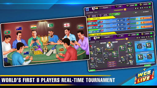 WCB LIVE Cricket Multiplayer: PvP Cricket Clash android2mod screenshots 3