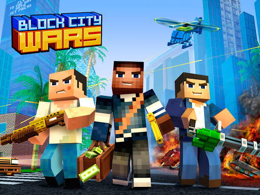 Code Triche Block City Wars: Pixel Shooter with Battle Royale (Astuce) APK MOD screenshots 5