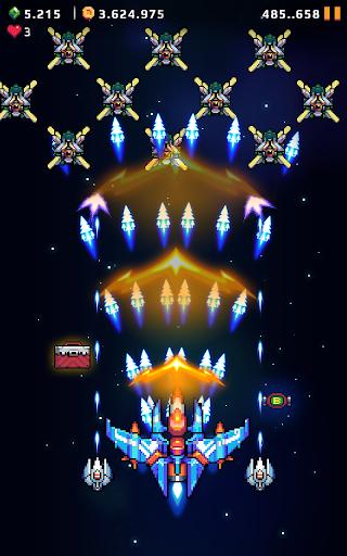 Falcon Squad: Galaxy Attack - Free shooting games Apkfinish screenshots 13