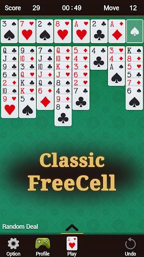 FreeCell 1.41 screenshots 1