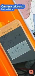 Camera math calculator - Take photo to solve 5.3.6.72