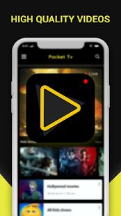 Pocket TV Free Movies,LiveTV &Web Series PocketTv