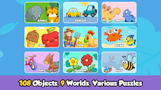 Toddler Puzzles for Kids - Baby Learning Games Appのおすすめ画像1