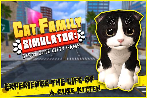 Cat Family Simulator: Stray Cute Kitty Game 10.1 screenshots 13