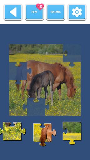 Jigsaw Horses 2.0 screenshots 4
