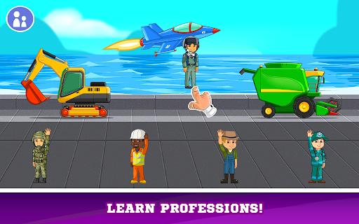 Kids Cars Games! Build a car and truck wash!  screenshots 7
