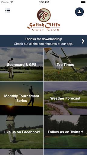 salish cliffs golf club screenshot 2