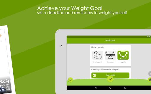 Weight Diary - Weight Loss Tracker, BMI, Body Fat 3.6.0.1 Screenshots 17