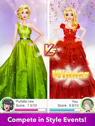 Model Fashion Red Carpet: Dress Up Game For Girls 0.4 screenshots 13