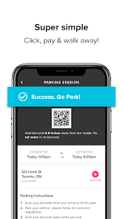 HonkMobile: Find & Pay for Parking Screenshot
