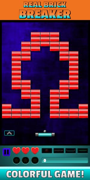 Real Brick Breaker - New Offline Game - Ball Game