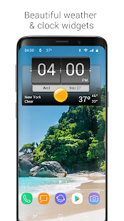3D Flip Clock & Weather 5.96.5 Screenshots 9