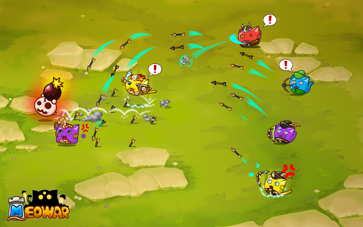 Meowar - PvP Cat Merge Defense TD  screenshots 5