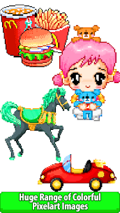 Pixly – Paint by Number,Pixel Art,Sandbox Coloring 2.8 APK Mod Updated 2